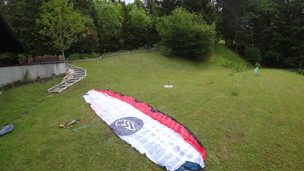 kite wasserstart
